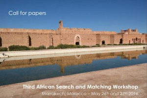 Permalink to:Third African Search and Matching Workshop